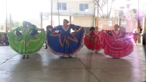 One of the many performances done, in our honor, when we first arrived at the school.