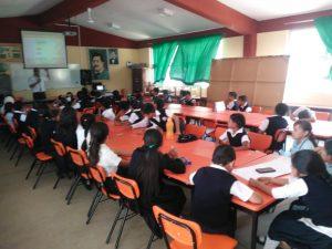 Inside Escuela Primaria Ricardo Flores Magon