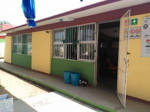 Photo of the outside of Escuela Primaria Ricardo Flores Magon